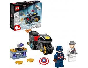 LEGO SUPER EROI 76189 - Scontro tra Captain America e Hydra