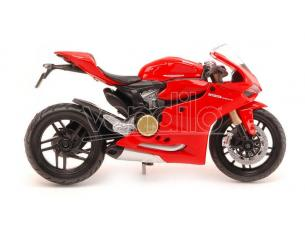 MAISTO MI32704 DUCATI 1199 PANIGALE 2012 RED 1:12 Modellino