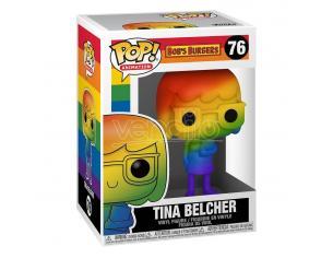 Bob's Burgers Funko Pop! Pride Vinile Figura Tina Belcher Rainbow 9 cm