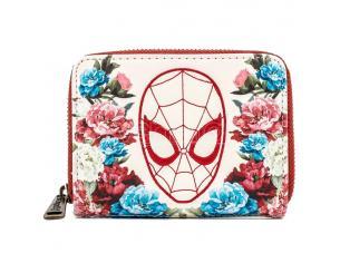 Loungefly Marvel Spiderman Floral Portafoglio Loungefly