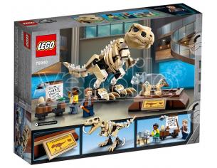 LEGO JURASSIC WORLD 76940 - LA MOSTRA DEL FOSSILE DI DINOSAURO T. REX