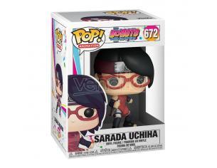 Boruto: Naruto Next Generations Pop! Animation Vinile Figura Sarada Uchiha 9 Cm