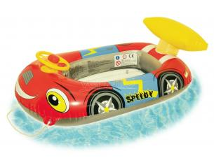 Canottino Gonfiabile Auto con Volante e Spoiler 100 cm Beach Art