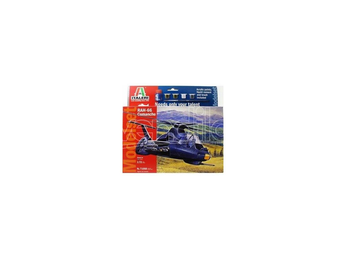 ITALERI 71058 RAH-66 Comanche 1:72 kit aerei Elicottero Modellino