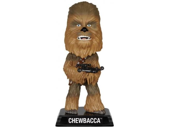 Star Wars Funko Wacky Wobbler Film Vinile Figura Chewbacca 17 cm