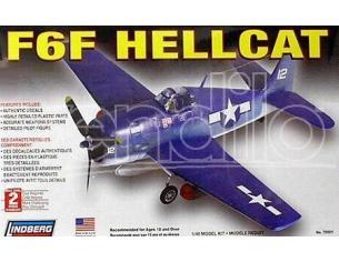 Lindberg 70501 F6F HELLCAT 1/48 KIT DI MONTAGGIO Modellino