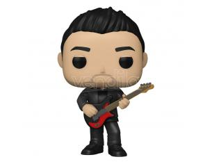 Fall Out Boy Pop! Rocks Vinile Figura Pete Wentz 9 Cm Funko