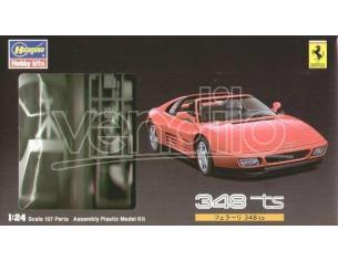 HASEGAWA Hobby Kits 20231 FERRARI 348 TS 1:24 107 parts Auto Modellino