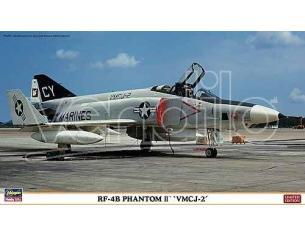 Hasegawa Hobby Kits 01922 RF-4B PHANTOM II VMCJ-2 1/72 KIT DI MONTAGGIO Modellino SCATOLA ROVINATA