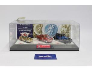 Bialbero ASC/208 San Cristoforo A1750 + P3 + Giulietta Cofanetto 1:43 Modellino