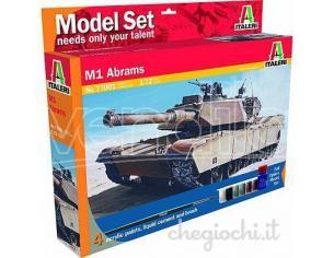 Italeri IT77001 M1 ABRAMS KIT 1:72 Modellino