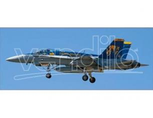 HASEGAWA 00964 F/A 18C HORNET GOLDEN DRAGONS HISTORY 1:72 KIT Modellino SCATOLA ROVINATA