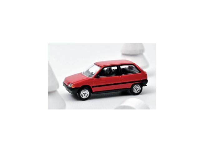 NOREV NV310920 CITROEN AX 1986 RED 1:64 Modellino