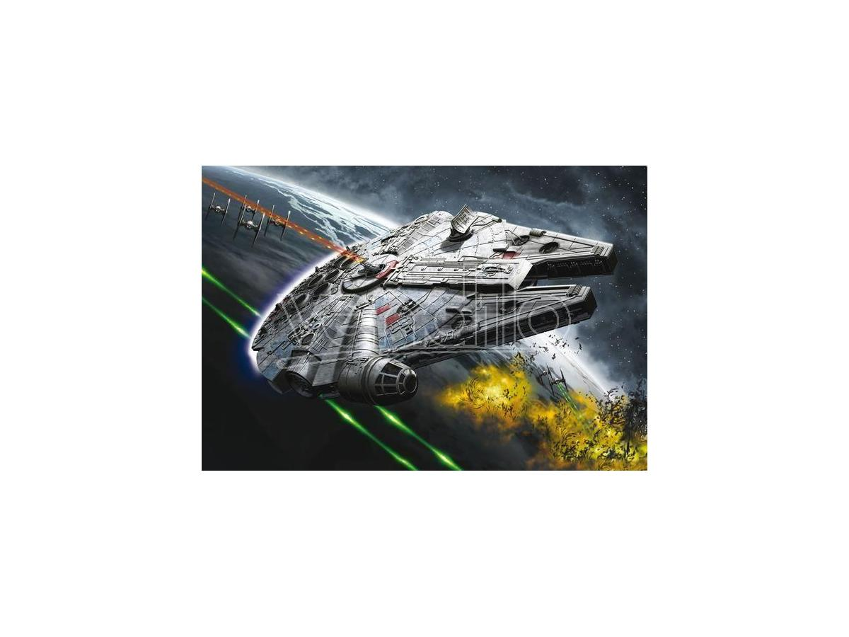 Revell RV06752 STAR WARS MILLENNIUM FALCON KIT 1:164 Modellino SCATOLA ROVINATA