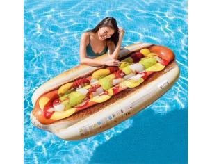 Materassino Gonfiabile Hot Dog con Maniglie 180 x 89 cm Intex 58771