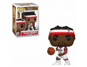 Nba Legends Funko Pop Sports Vinile Figura Allen Iverson (sixers Home) 9 Cm