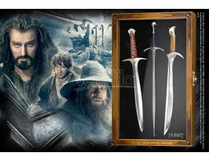 The Hobbit Lettera Opener Set Swords Noble Collection