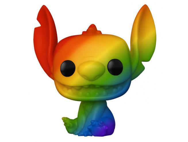 Disney Pride Lilo & Stitch Funko Pop Animazione Vinile Figura Stitch Rainbow 9 cm