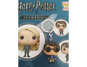 Harry Potter Pocket Pop Mistery Portachiavi Vinile Figura Harry con Maglione Viola 5 cm