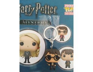 Harry Potter Pocket Pop Mistery Portachiavi Vinile Figura Harry con Bacchetta 5 cm