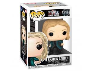 Pop Figura Marvel The Falcon E The Winter Soldier Sharon Carter Funko