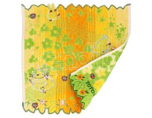 TOTORO YELLOW FLOWERS MINI TOWEL ASCIUGAMANO MARUSHIN