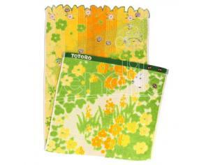 TOTORO YELLOW FLOWERS TOWEL ASCIUGAMANO MARUSHIN