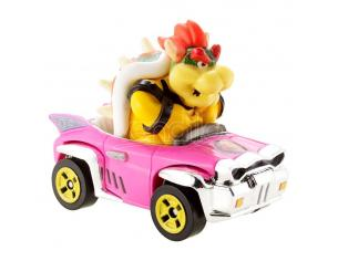 Mario Kart Hot Wheels Diecast Vehicle 1/64 Bowser (Badwagon) 8 Cm Mattel Hot Wheels