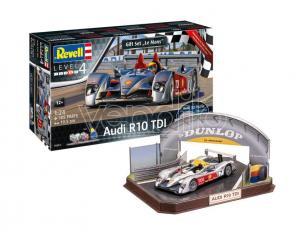 Revell Rv05682 Regalo Set Le Mans R10 Tdi + 3d Puzzle Diorama Kit 1:24 Modellino