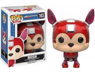 Mega Man Funko POP Videogiochi Vinile Figura Rush 9 cm SCATOLA ROVINATA