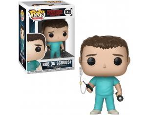 Stranger Things Funko Pop Serie Tv Vinile Figura Bob in Scrubs 9 cm SCATOLA ROVINATA
