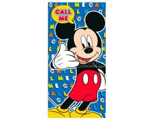 Disney Mickey Microfibra Telo Mare Disney