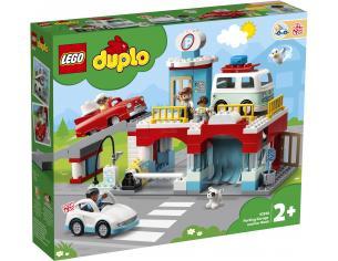 LEGO DUPLO 10948 - AUTORIMESSA E AUTOLAVAGGIO SCATOLA ROVINATA