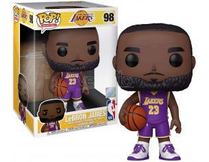 Nba Funko Pop Basketball Vinile Figura LeBron James (divisa viola) 25 cm