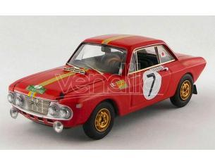 BEST MODEL BT9803 LANCIA FULVIA 1,3 COUPE' HF WINNER R.MEDITERRANEE 1969 KALLSTROM-GUNNAR Modellino