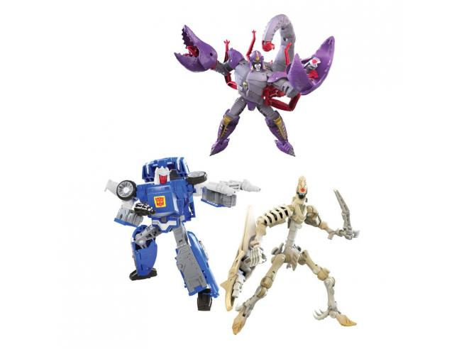Transformers Generations War For Cybertron: Kingdom Figures Deluxe 2021 W3 Assortito (8) Hasbro