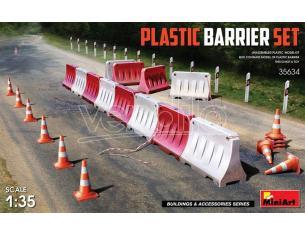 Miniart Min35634 Plastica Barrier Set Kit 1:35 Modellino