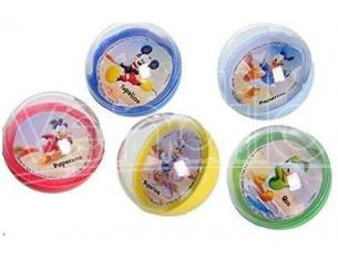 Set 9 Palline Biglie Plastica Disney Mickey Mouse 3 cm