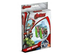 Coppia Braccioli Gonfiabili Avengers 25 cm Mondo