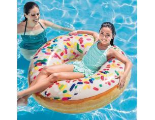 Anello Salvagente Gonfiabile Donut zuccherini 99 cm Intex 56263