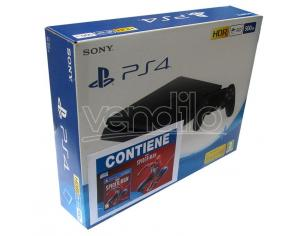 PS4 500GB F + MARVEL'S SPIDER-MAN CONSOLE