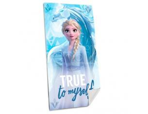 Disney Frozen 2 Elsa Cotone Telo Mare Bambino Licensing