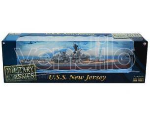 Gearbox Battleship 09002 U.s.s. New Jersey New Bb-62 1:700 Modellino