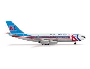 Herpa 515641 Ural Airlines Ilyushin IL-86 1:500 Aereo Modellino SCATOLA ROVINATA
