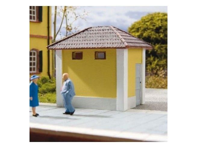 HORNBY Rivarossi HC8019 Edificio Toilettes per stazioni H0 1:87 Modellismo SCATOLA ROVINATA