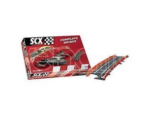 SCX 88070 Accessori pista Ponte completo 1:32 Modellismo SCATOLA ROVINATA