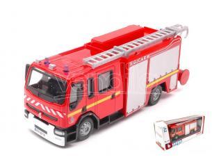 BBURAGO BU32002B RENAULT PREMIUM EMERGENCY FIRE TRUCK 1:50 Modellino