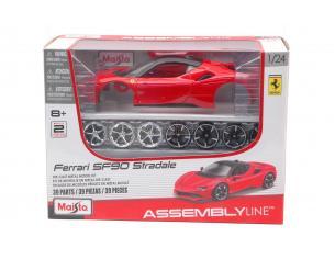 MAISTO MI39137 FERRARI SF90 STRADALE 2020 RED KIT 1:24 Modellino