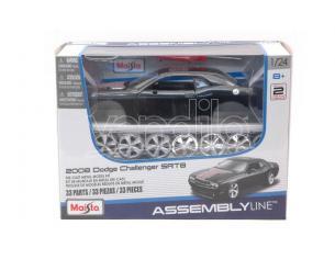 MAISTO MI39280 DODGE CHALLENGER SRT8 2008 BLACK KIT 1:24 Modellino