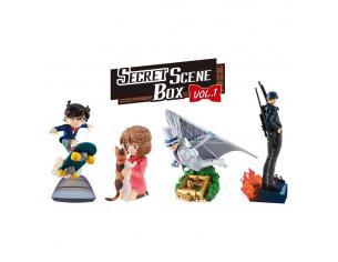 Case Closed Petitrama Series Trading Figura 8 Cm Secret Scene Box Vol. 1 Assortment (4) Megahouse
